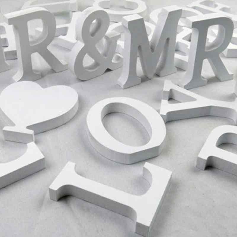 Rumah Dekorasi Aksesoris Kreatif Huruf Abjad Kata Bridal Pesta Pernikahan Natal Hari Valentine Festival Dekorasi Rumah