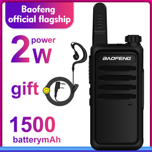 Image 5 - Walkie Talkie baofeng bf r5 mini Kids two way radio uhf radio Portable 2W Toy Communicator BF R5 FM Radio HF Transceiver Ham cb