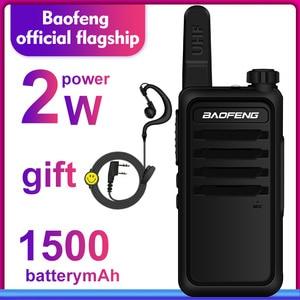 Image 5 - Walkie Talkie baofeng bf r5 niños mini radio de dos vías de radio uhf portátil 2 W juguete comunicador BF R5 Radio FM HF transceptor jamón cb