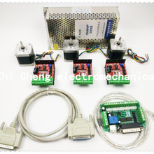 CNC Router Kit 3 Axis, 3pcs TB6600 4.0A stepper motor driver
