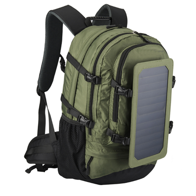 35L Laptop Solar Backpack