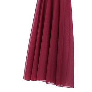 Image 4 - Womens Spaghetti Strap Sleeveless Asymmetrical Mesh Maxi Dance Dress with Built In Leotard Lyrical Performance Dance Class Dress
