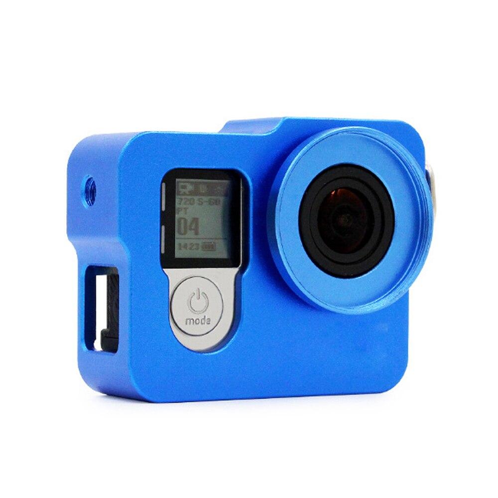 GoPro için Alüminyum Kabuk Çerçeve Koruyucu Konut Case UV Filtre - Kamera ve Fotoğraf - Fotoğraf 3