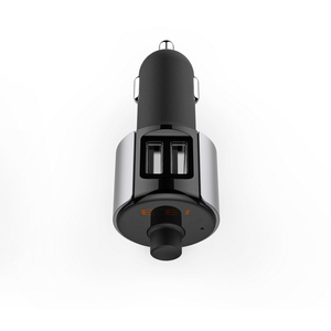 Image 2 - 2 puertos USB cargador de coche Bluetooth JL 2,1 reproductor USB Auto FM sistema estéreo pantalla LED vehículo transmisor FM micrófono incorporado
