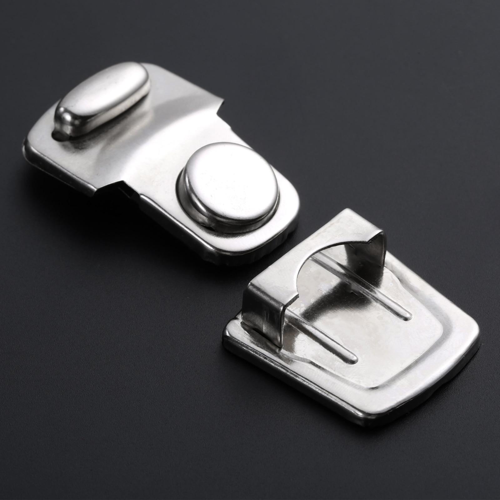 2//10Pcs 28*45mm Jewelry Buckle Antique Suitcase Case Lock Hasp Latch Catch Clasp
