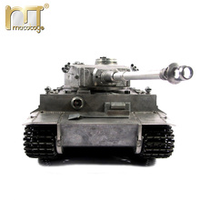 Mato 1220 100% metal 1 16 German Tiger 1 2.4G RC tank Infrared battle recoil barrel BB shooting airsoft Ready to Run VS Tamiya