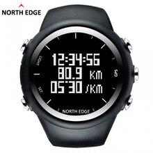 North Edge GPS Watch Men Digital Smart Pace Speed Calorie Wristwatch Running Jogging Triathlon Hiking Clock Waterproof 50m Hour