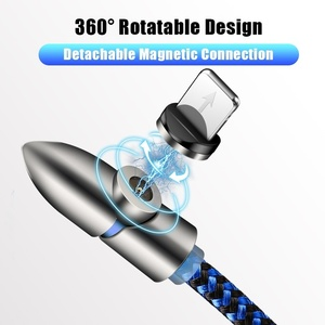 Image 2 - Acgicea 90 度 LED 磁気ケーブルマイクロ Usb タイプ C 高速充電マイクロ Usb タイプ C マグネット充電器 Iphone XR × xiaomi USB C