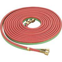 25ft Oxy acetylene Hot The little Smith Welding Gas Torch Twin Oxygen Welding Torch Hose Welding Hose Red & Green