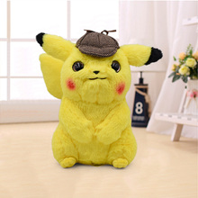 Pikachu Plush Toy Jigglypuff Charmander Psyduck Gengar Snorlax Toys Movie Detective Cute Anime Doll For Kid Baby Birthday Gifts