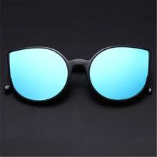 NYWOOH Gato Olho Óculos De Sol Das Mulheres Designer de Marca de Luxo Retro  Espelho Óculos de Sol Das Senhoras Óculos Cateye Eye. 219ecc01c7