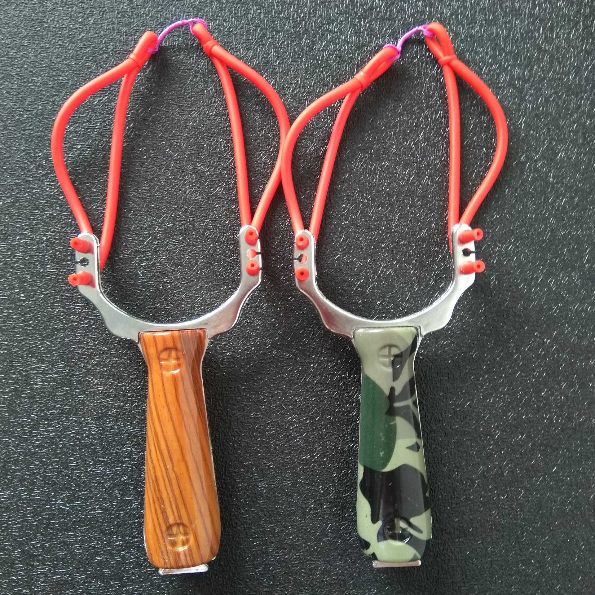 Professional Powerful Slingshot Sling shot Aluminium Alloy Catapult Slingshot Camouflage Bow Outdoor Slingshot Hunting Bow(China)