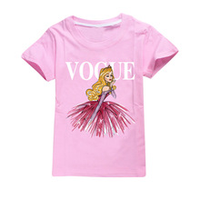 Kids Girl T Shirt Summer Cotton Toddler T-shirts Teen Clothes Bobo C Clothing Vogue Princess Tops Short Sleeve Casual Wear
