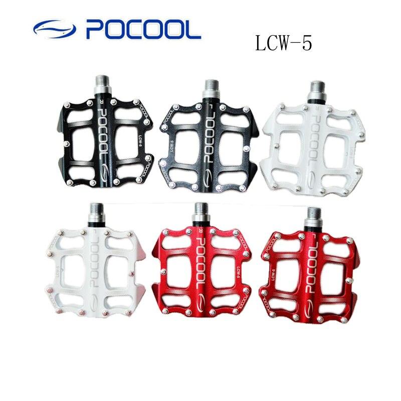 POCOOL LCW-5 vtt BMX vélo pédale montagne route vélo pédales scellé roulement Perlin pédale CNC moulage intégré