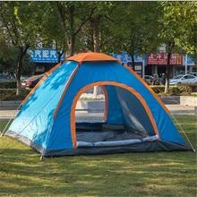 4 Person Tent Camping Single Double Door Open Tent Ultralight Tent Hiking