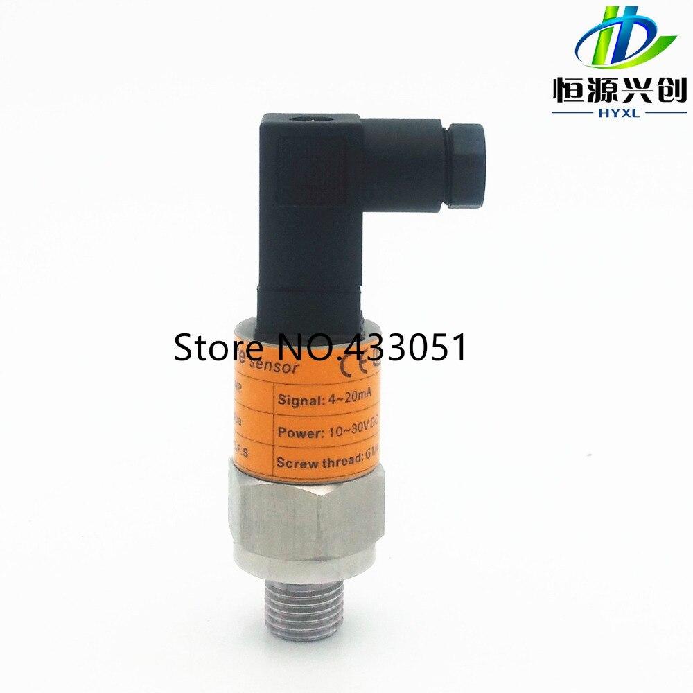 цены Free shipping ,0-60/100/250bar, 4~20mA/0-10V output, G1/4, 24V DC power supply, Pressure Transmitter Pressure Transducer Sensor