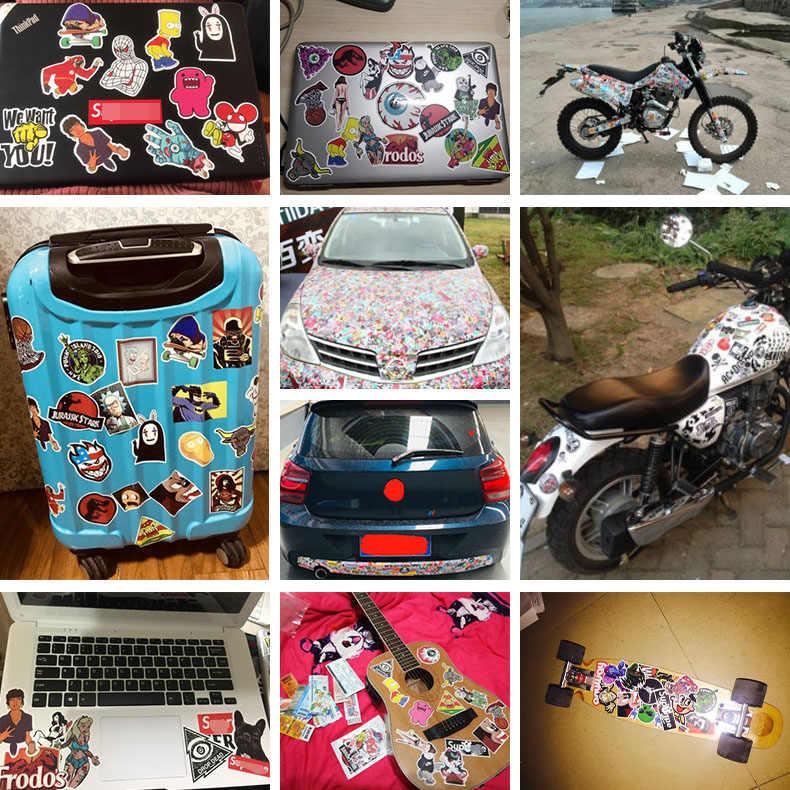 Czerwone usta naklejki śmieszne język kobieta wodoodporna walizki walizki na laptopa gitara bagażnik deskorolka rower zabawka piękne A0140 naklejki