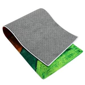 Image 5 - 60x180CM Kitchen Rug Antiskid Mat for Kitchen Floor Long Door Mat Vintage Style Kitchen Rug Non Slip Bedroom Bedside Mats