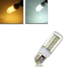 цена на E27 LED 4.5W 36 SMD 5730  Warm White/White Cover Corn Light Lamp  LED Bulb AC 220V