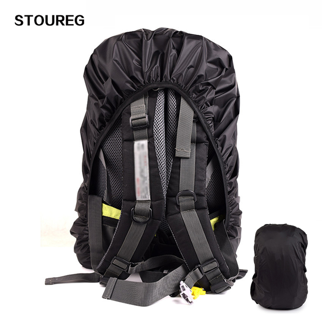 e4efd9ccedd7 18L-70L Waterproof Backpack Rain Cover Protective Bag Cover Mud Dust  Rainproof Cover Outdoor Hiking
