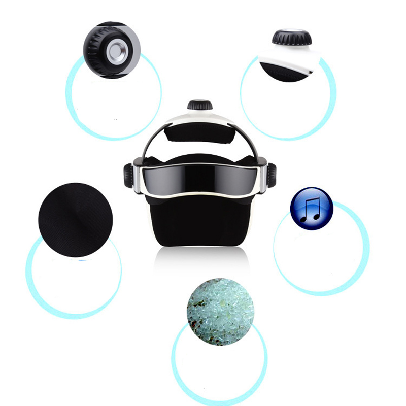 Electric Head Massager Kneading And Pressing Acupuncture Points with music Health Device Electric Head Massage Brain Relaxing Fitness Brand Name: RUOKEY