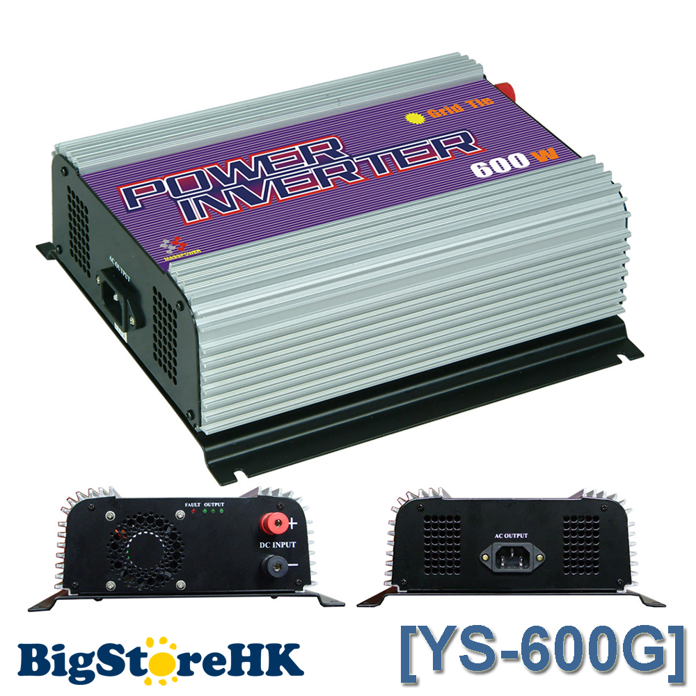 New 600W 220V Output SGPV MPPT Function Small Pure Sine Wave Grid Tie Inverter PV System 10.8V ~ 30V / 22V ~ 60VDC Optional solar power on grid tie mini 300w inverter with mppt funciton dc 10 8 30v input to ac output no extra shipping fee