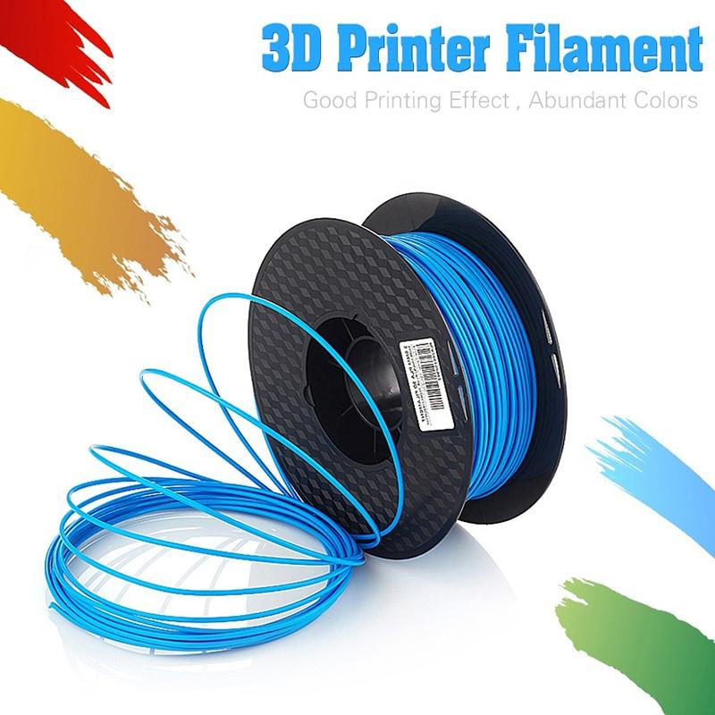 Bilgisayar ve Ofis'ten 3D Baskı Malzemeleri'de Çeşitli Isteğe Bağlı 3D Yazıcı PLA Filament Örnekleri 1 KG/rulo için 1.75mm 3mm En 3D Yazıcı/ 3D Kalemler/Reprap/Makerbot title=