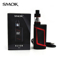 100 Original Smok Alien Kit With 3ml TFV8 Baby Tank Electronic Cigarette Vape Kit Alien 220W