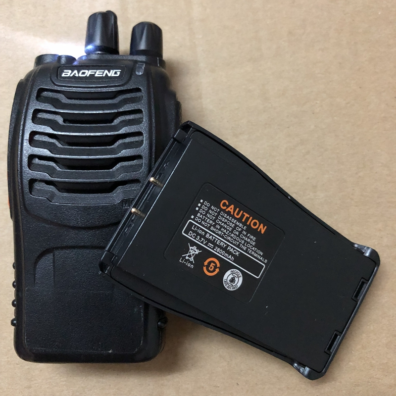 baofeng battery 888s walkie talkie 2800 mAh BL 1 for BF 666S Retevis H777 H 777 Battery BF 777S baofeng BF 888s Battery baofeng-in Walkie Talkie from Cellphones & Telecommunications