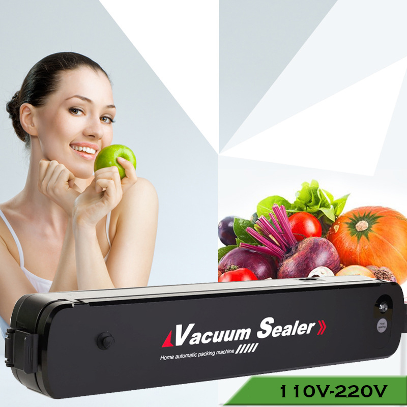 Household Food Vacuum Sealer Packaging Machine 110V 220V Universal Film Sealer Vacuum Packer 15 Bags Vacuum Food Sealer household vacuum food sealer packaging machine 220v film sealer vacuum packer with 10 bags
