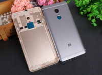 Official Original Housing Replacement Parts Metal Back Battery Cover For Xiaomi Redmi Note4 Phone Case For