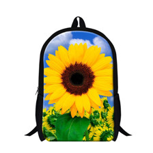 sweet Rose Flower printing Backpack school college shoulder book  Bags