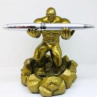Decorazione Del Mestiere Penna Esecutivo Dolder Penna creativa Del Basamento granchio Hulk Forbici Statua Statue e sculture    -