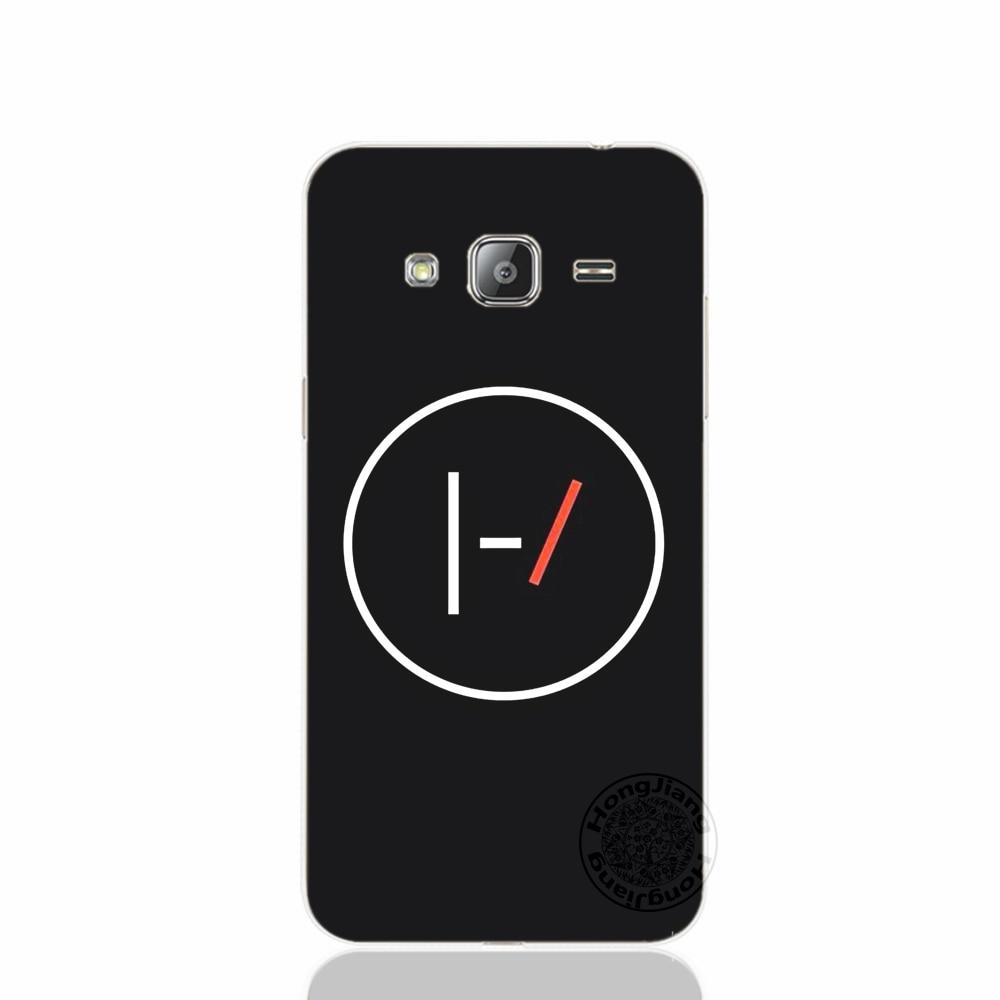 Desxz Twenty One Pilots 21 cover phone case for Samsung Galaxy J1 J2 J3 J5 J7 MINI ACE 2017 2016 2015 j120 j200 j510 j710 j520
