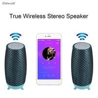 True Wireless Bluetooth Streaming HiFi Stereo Speaker Bass Loudspeaker