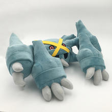 Hot New 1 Styles 35 * 35CM Metagross Doll Anime Kolekcionuojamieji Plush Dolls Įdaryti Gyvūnai Geriausi Dovanos Minkšta žaislai Nemokamas pristatymas