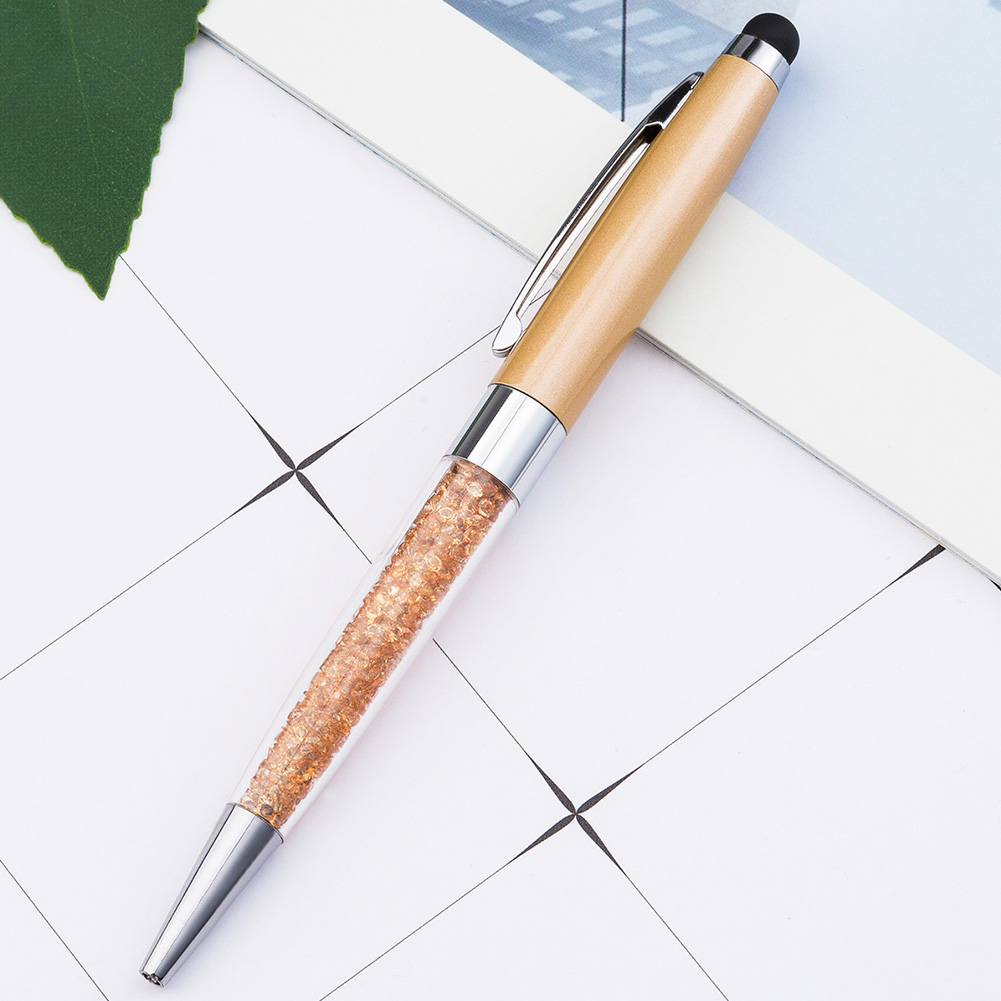 Fashion Smooth Office School Gift Writing Tool Stationery Signature Pen Writing Supplies Metal Ballpoint rose gold