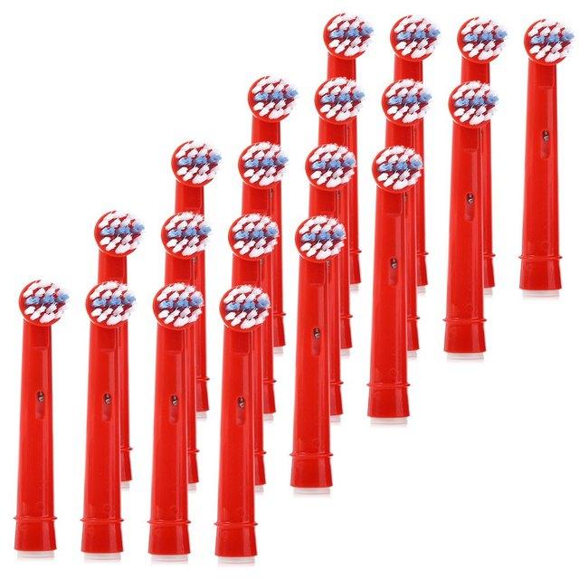 Poli Costo Eb-10a 20 Unids Reemplazo Cabezas Del Cepillo cepillo de Dientes Para Niños cepillo de Dientes Oral-b Electrónico Para Infancia2