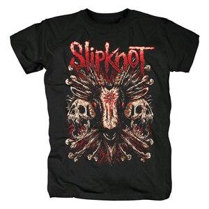 Image 2 - Sabot de sang noeud Nu métal lourd nouveau T Shirt haut homme taille asiatique