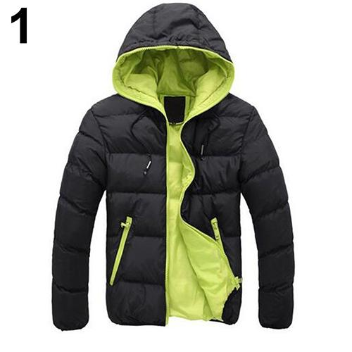 2018 New Men Fashion Autumn Winter Outdoor Sport Casual Hoodie Coat Outwear Overcoat