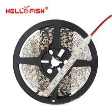 Hello Fish 5050 LED strip DC12V flexible LED light LED tape 5M 300 led chips RGB/ white/warm white/blue/red/yellow