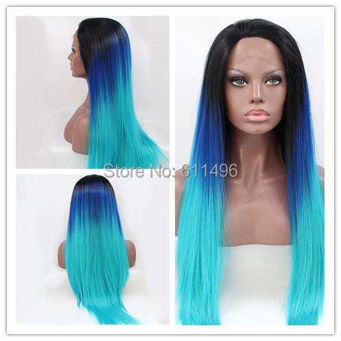 gros rsistant la chaleur ombre naturel noirbleu fonclumire turquoise tone couleur - Coloration Cheveux Bleu Turquoise