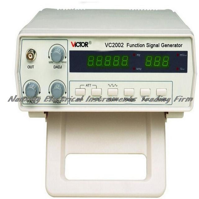 Fast arrival VC2002  Signal Generator 5 Digits (0.2 Hz-2 MHz) 7 Frequency Digital Function Waveform Generator AC110-220V fast arrival vc2002 signal generator 5 digits 0 2 hz 2 mhz 7 frequency digital function waveform generator ac110 220v