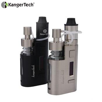 2019 Original 80w Kanger DripEZ Starter Kit Box Vape Mod Pump And Push RBA 0.3Ohm Drip coil 0.2Ohm Drip EZ Kit E Cigarettes цена 2017