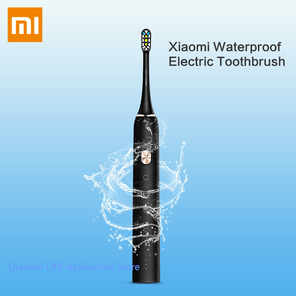 Xiaomi Soocare X3 Soocas Waterproof Electric Toothbrush Rechargeable Sonic Electrric Toothbrush Upgraded Ultrasonic Toothbrush xiaomi mi home soocas x3 soocas x1 soocare waterproof electric toothbrush rechargeable sonic toothbrush ultrasonic toothbrush