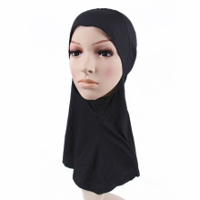 2016 shawl Black Cotton neck scarf Muslim Hijab  Inner Caps Nijia Islamic Underscarf Bonnet  women brand  scarf female desiner