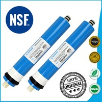 50 75 100 GPD Reverse Osmosis RO Membrane Certified To NSF ANSI 58 WQA For 5