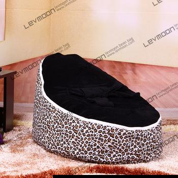 FRETE GRÁTIS saco de feijão bebê com 2 pcs preto up covers sofá preguiçoso cadeira do saco de feijão bebê crianças cadeira do saco de feijão saco de feijão tampa de assento