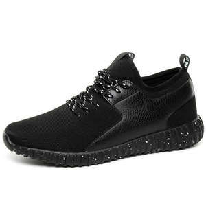 32118a5887b0b Sports Shoes 2017 Men s Running Shoes Free Black roshing Mesh leather Super  Light