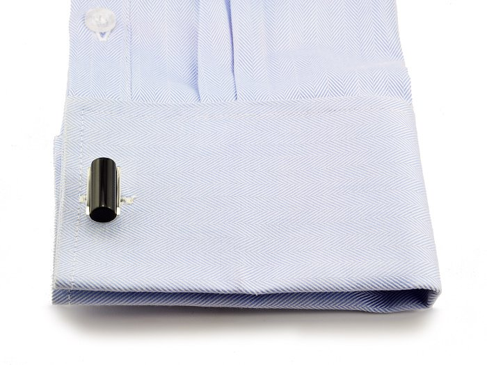 SPARTA Black Stone+ Stainless Steel cufflinks men's Cuff Links + Free Shipping !!! metal buttons